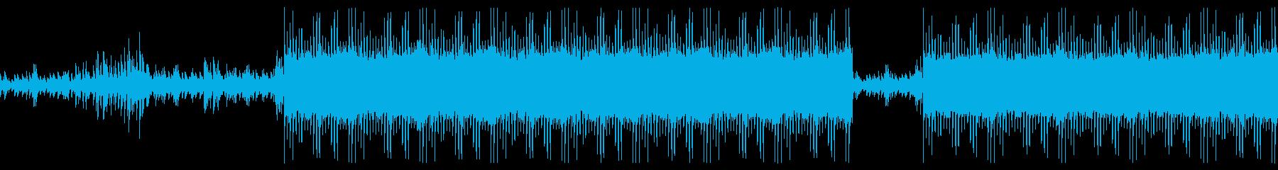 これから何かが始まるイメージ、バイオリンの再生済みの波形