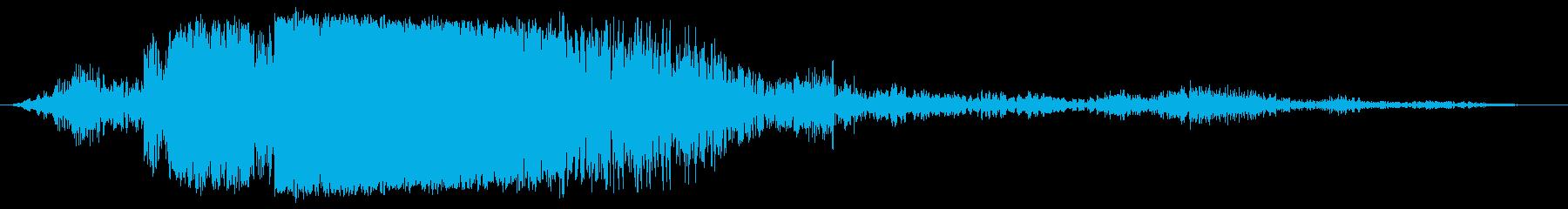 クラッシュメタルリップ、フォリーの再生済みの波形