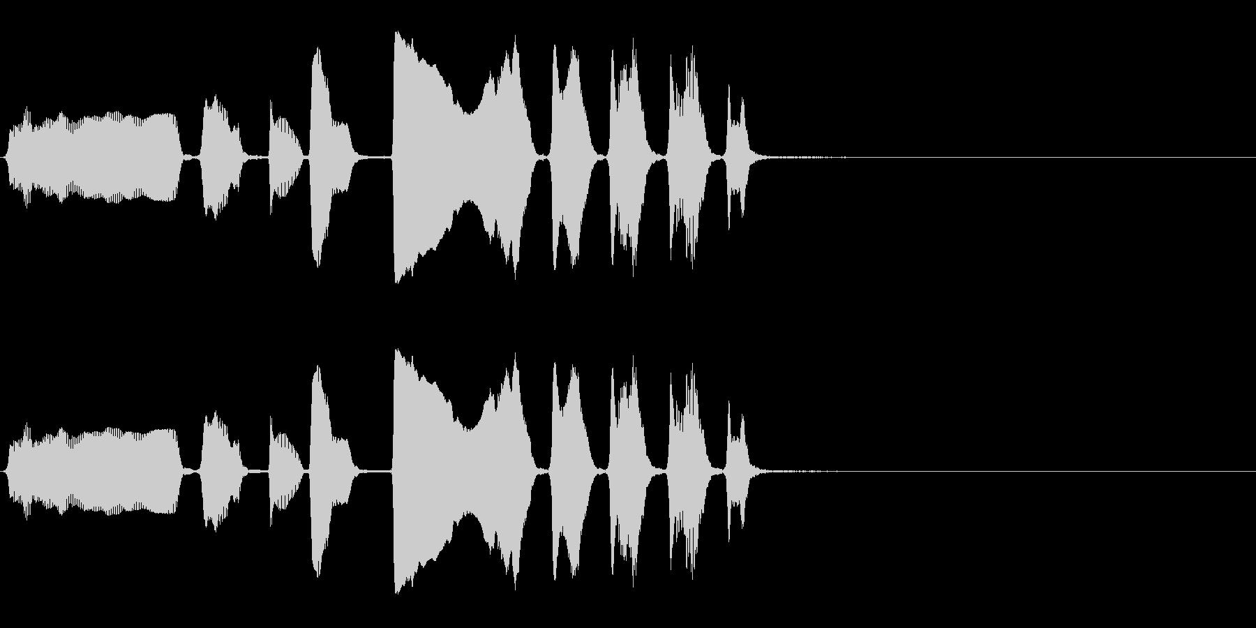 バリトンサックス:面白い高アクセン...の未再生の波形