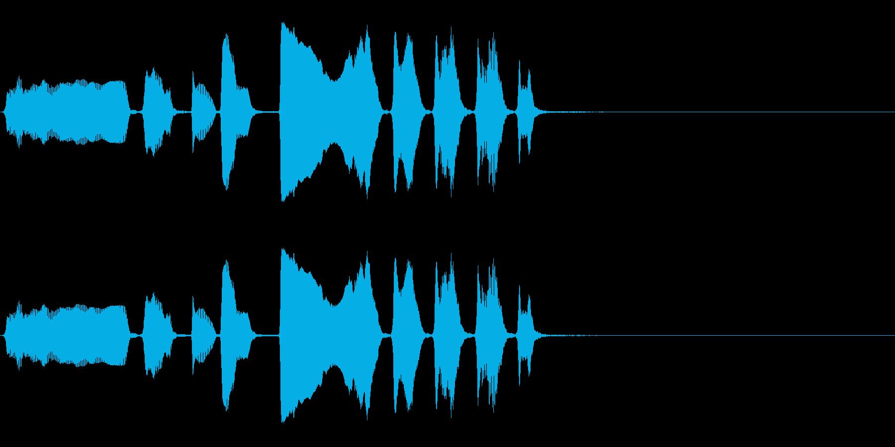 バリトンサックス:面白い高アクセン...の再生済みの波形