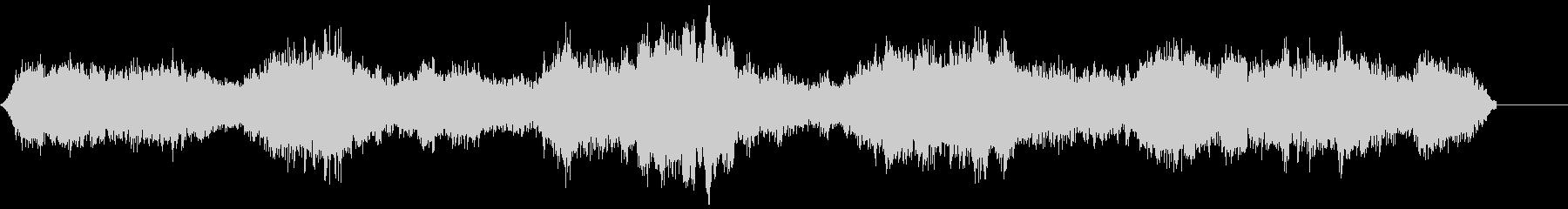 ゾンビ(グループ)うめき声3の未再生の波形