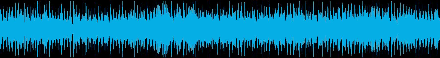 夏の始まり感じる爽やかウクレレ※ループ版の再生済みの波形