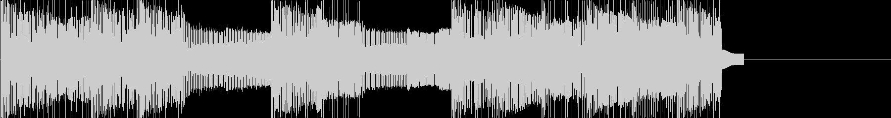 レトロゲームなチップチューンジングル23の未再生の波形