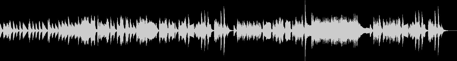 東欧風、ジプシーのような3拍子の曲の未再生の波形