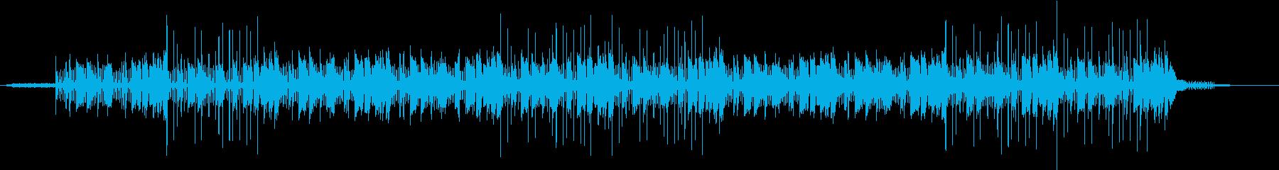 尾行 謎 電子音とメロディー 科学実験の再生済みの波形
