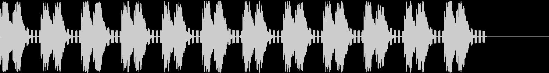警告音/緊急事態/アラートの未再生の波形