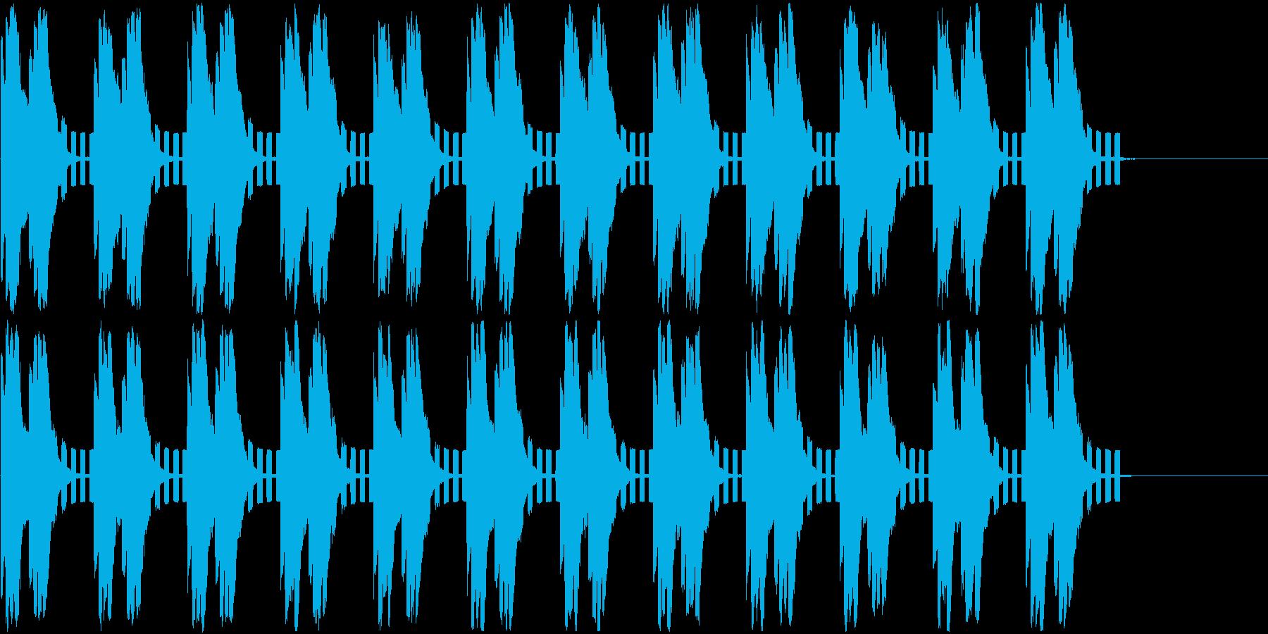 警告音/緊急事態/アラートの再生済みの波形