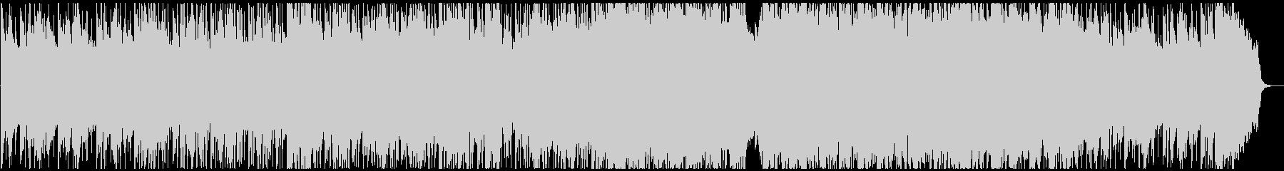 バイオリンの爽やかなアコースティック系の未再生の波形