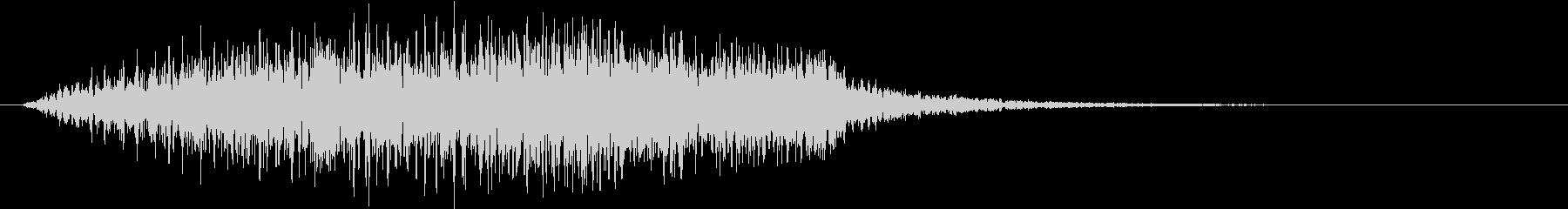 鋭い 怖いダーク02の未再生の波形