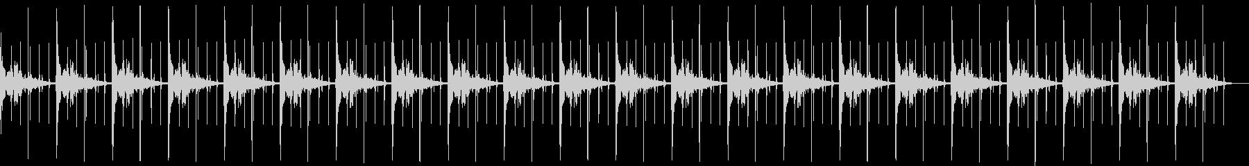 シンキングタイム(ボン、パーン)の未再生の波形