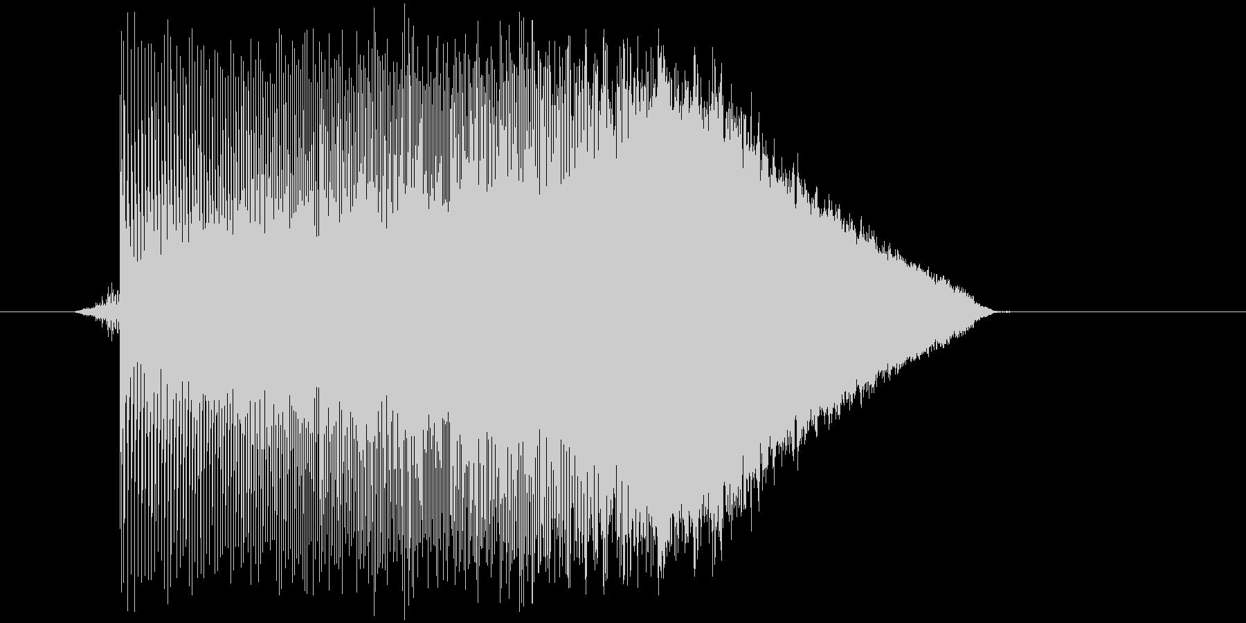 ゲーム(ファミコン風)ジャンプ音_026の未再生の波形