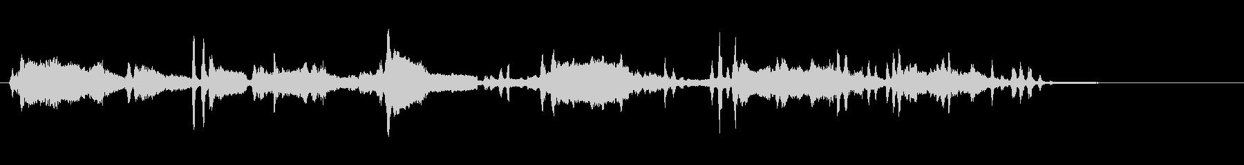 ウルフハウル、複数。の未再生の波形
