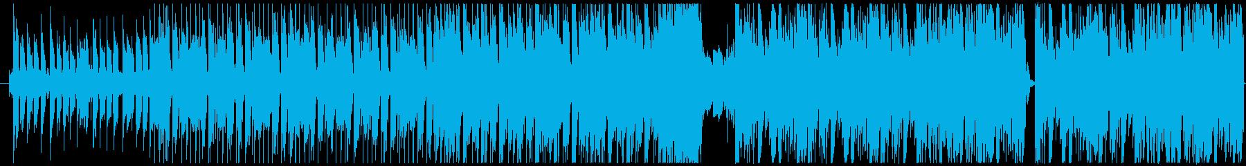 ハウスからダブステップに移行 EDMの再生済みの波形
