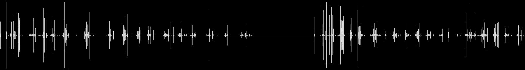 カートン、チューイング、2バージョ...の未再生の波形