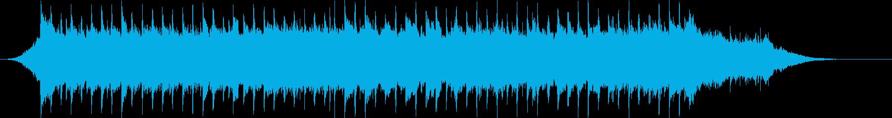 企業VP系70、爽やかギター4つ打ちcの再生済みの波形