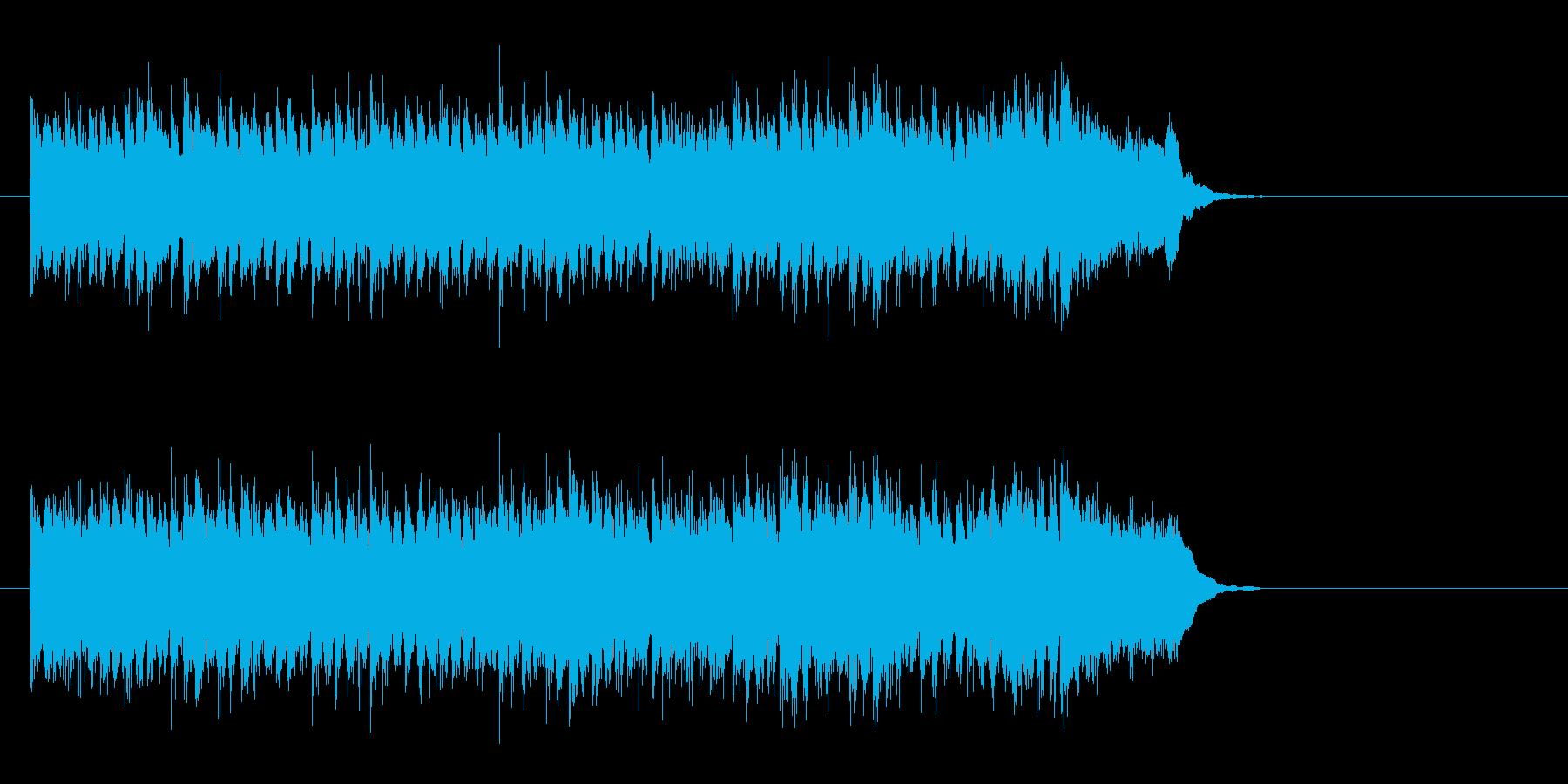 切なくも爽やかなポップス(イントロ)の再生済みの波形