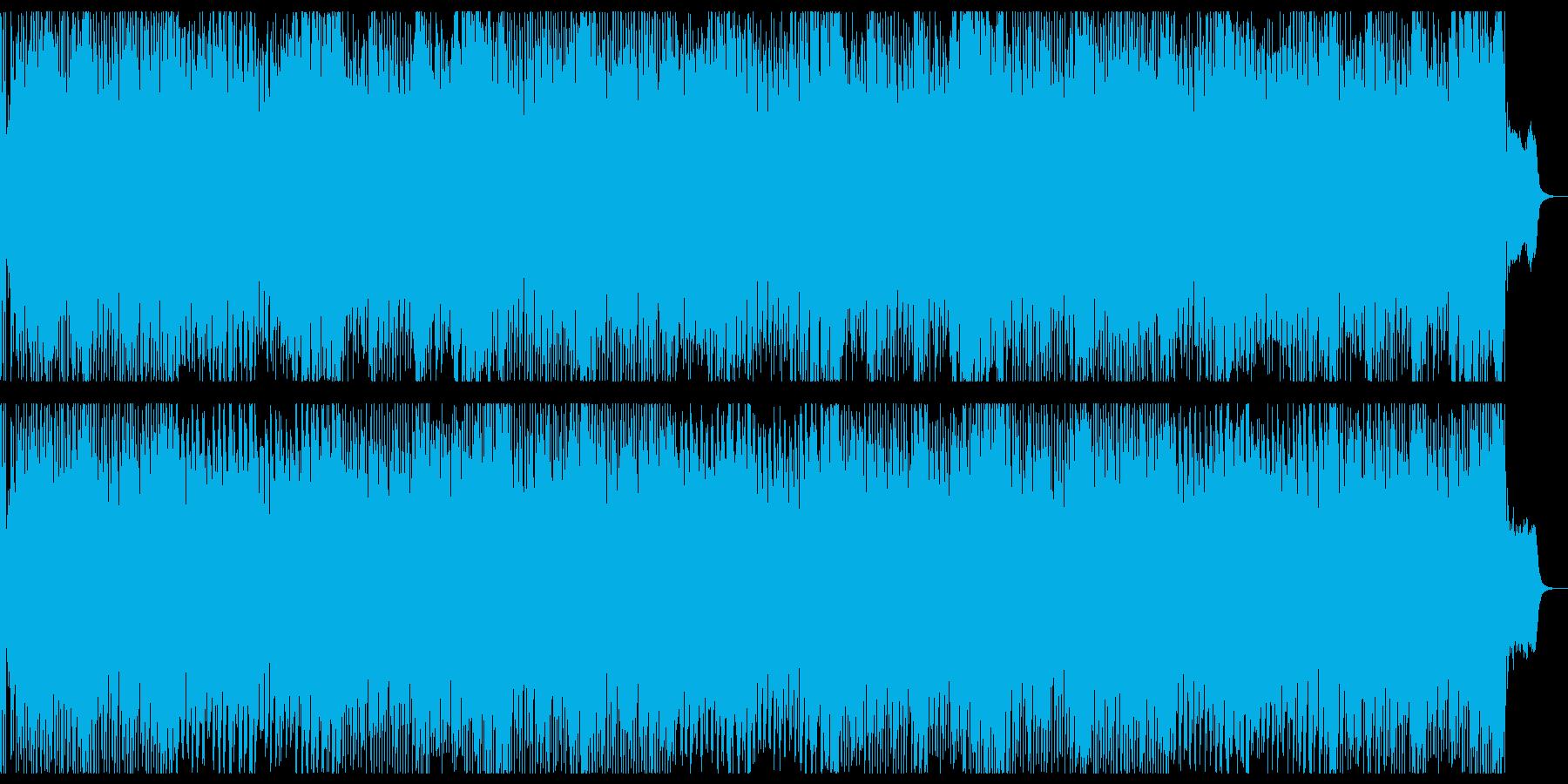 怪しく楽しいハロウィン曲の再生済みの波形