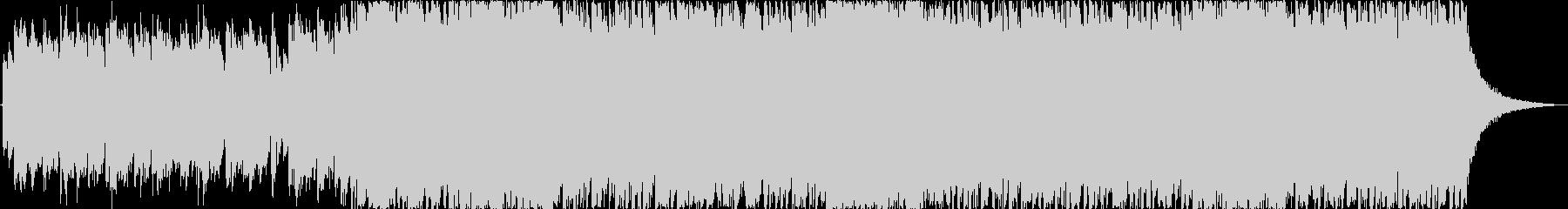 ギターとハーモニクスのキラキラポップスの未再生の波形