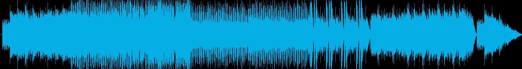 電子楽器とストリングスが絡み合うスリリ…の再生済みの波形