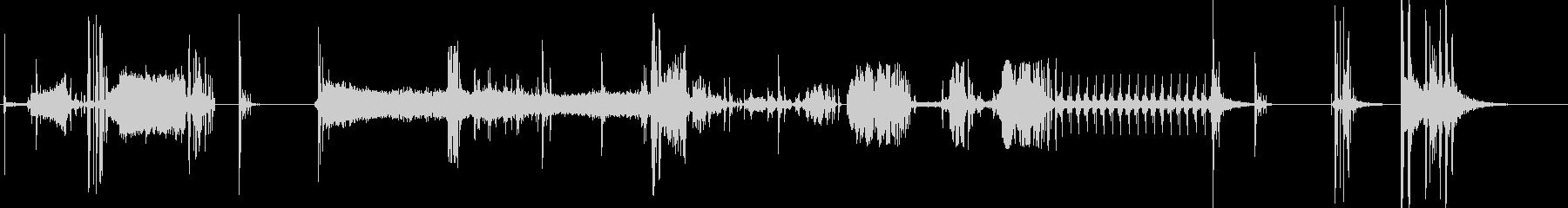 デモ2の未再生の波形