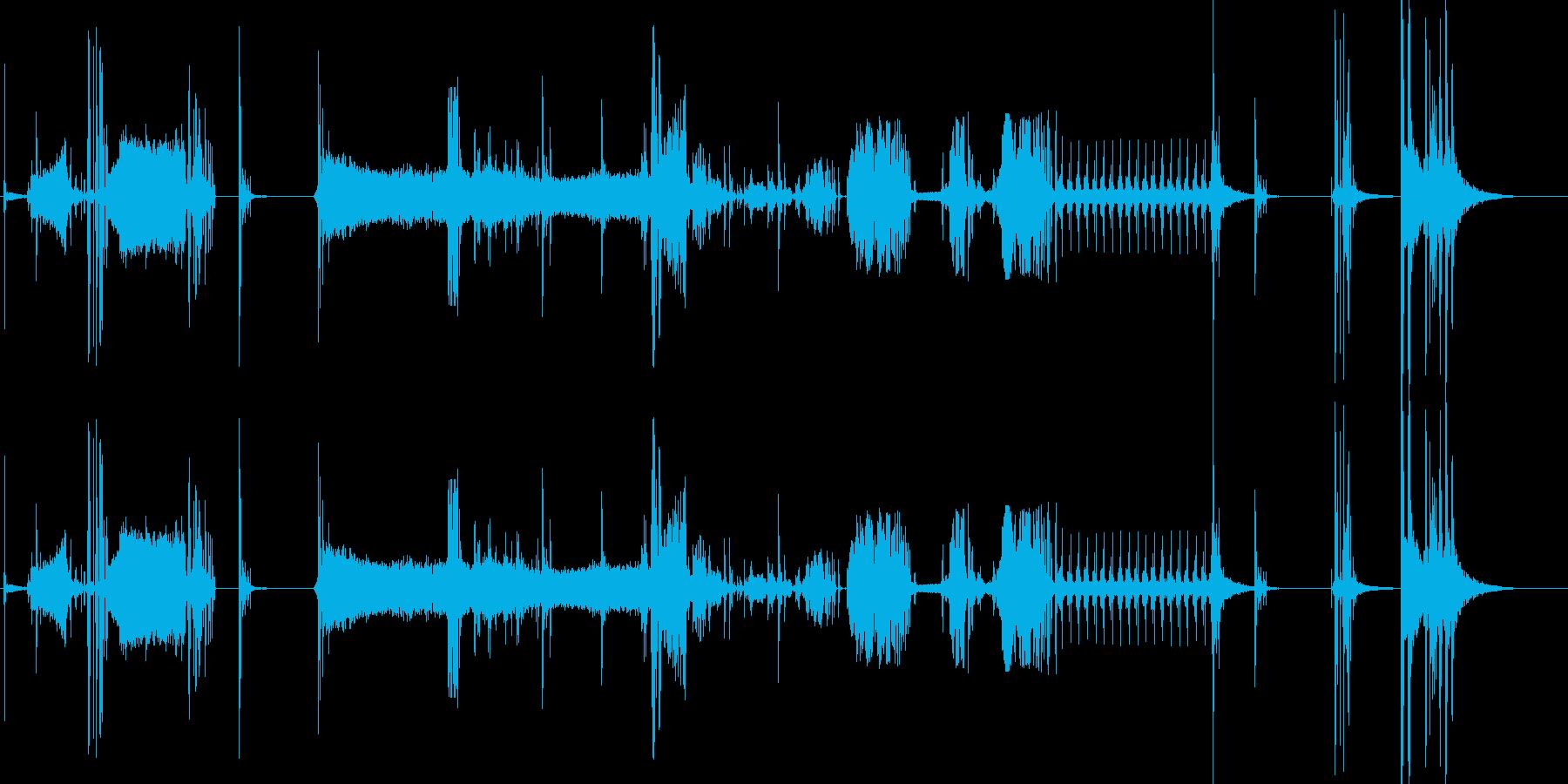 デモ2の再生済みの波形