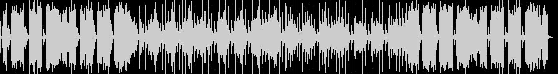 アコーディオンの怪しげな曲の未再生の波形