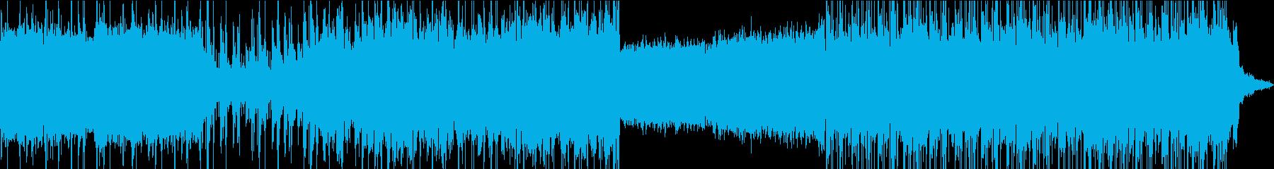 エンディングに使える異空間chilの再生済みの波形