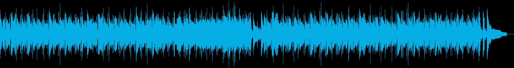 シンプルで心地の良いボサノバの再生済みの波形