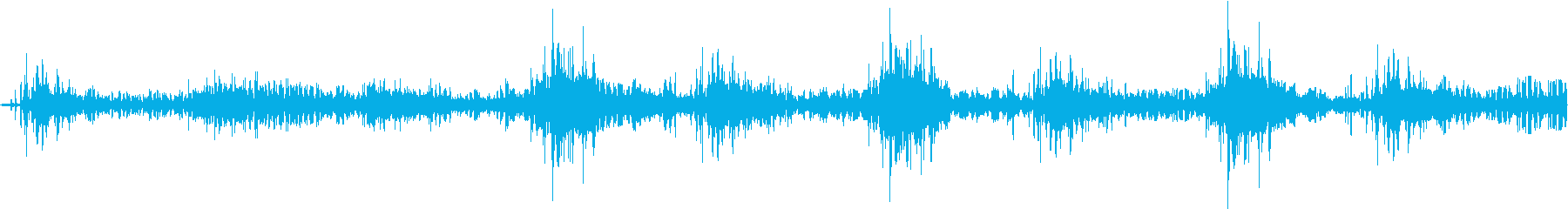 恐ろしい子供の笑い声の再生済みの波形