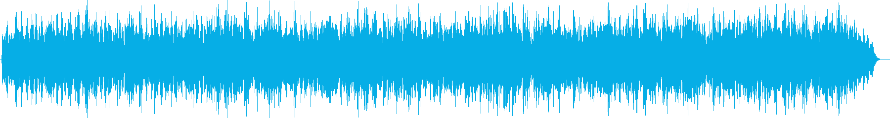 パズルをあてはめるようなテクノポップの再生済みの波形
