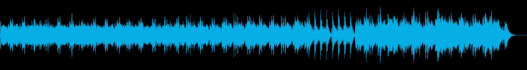 不思議、奇妙な出来事 ベルとストリングスの再生済みの波形