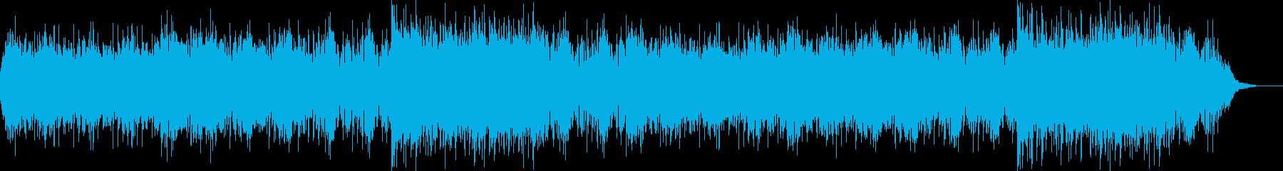 和風の再生済みの波形
