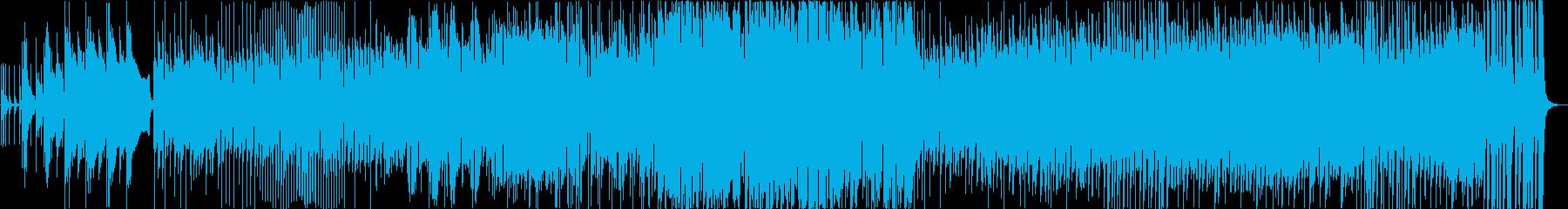 ロックプログレッシブ、エスニック、...の再生済みの波形