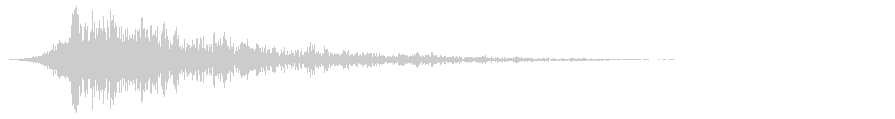 シュードーン-60-2(インパクト音)の未再生の波形