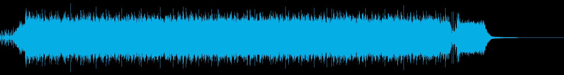 【30秒/メロなし】激しいロックアンセムの再生済みの波形