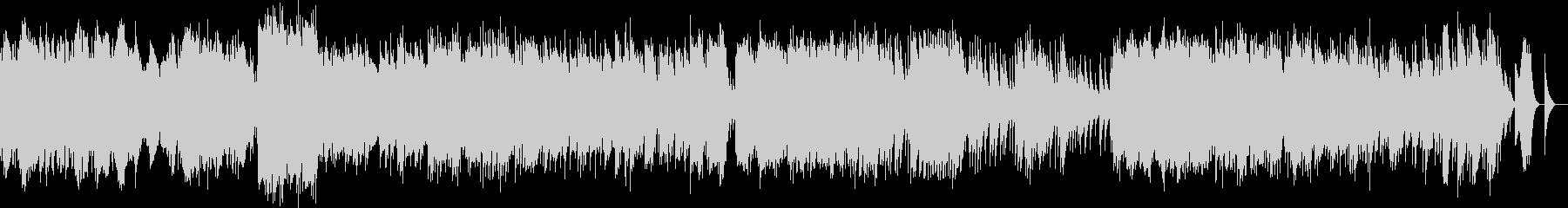 ベルガマスク組曲 メヌエット オルゴールの未再生の波形