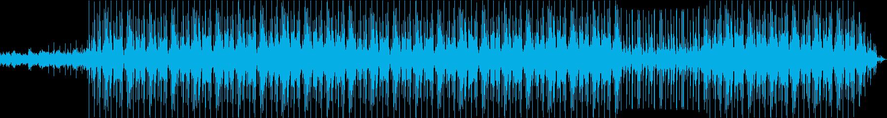クリスマスBGMの再生済みの波形