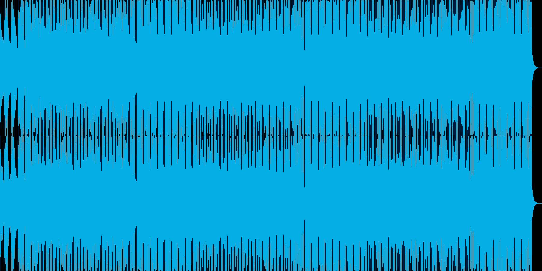 勢いのある攻撃的なHIPHOPの再生済みの波形