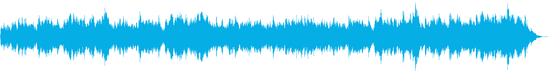 ピアノとフルート主体の切ないBGMの再生済みの波形