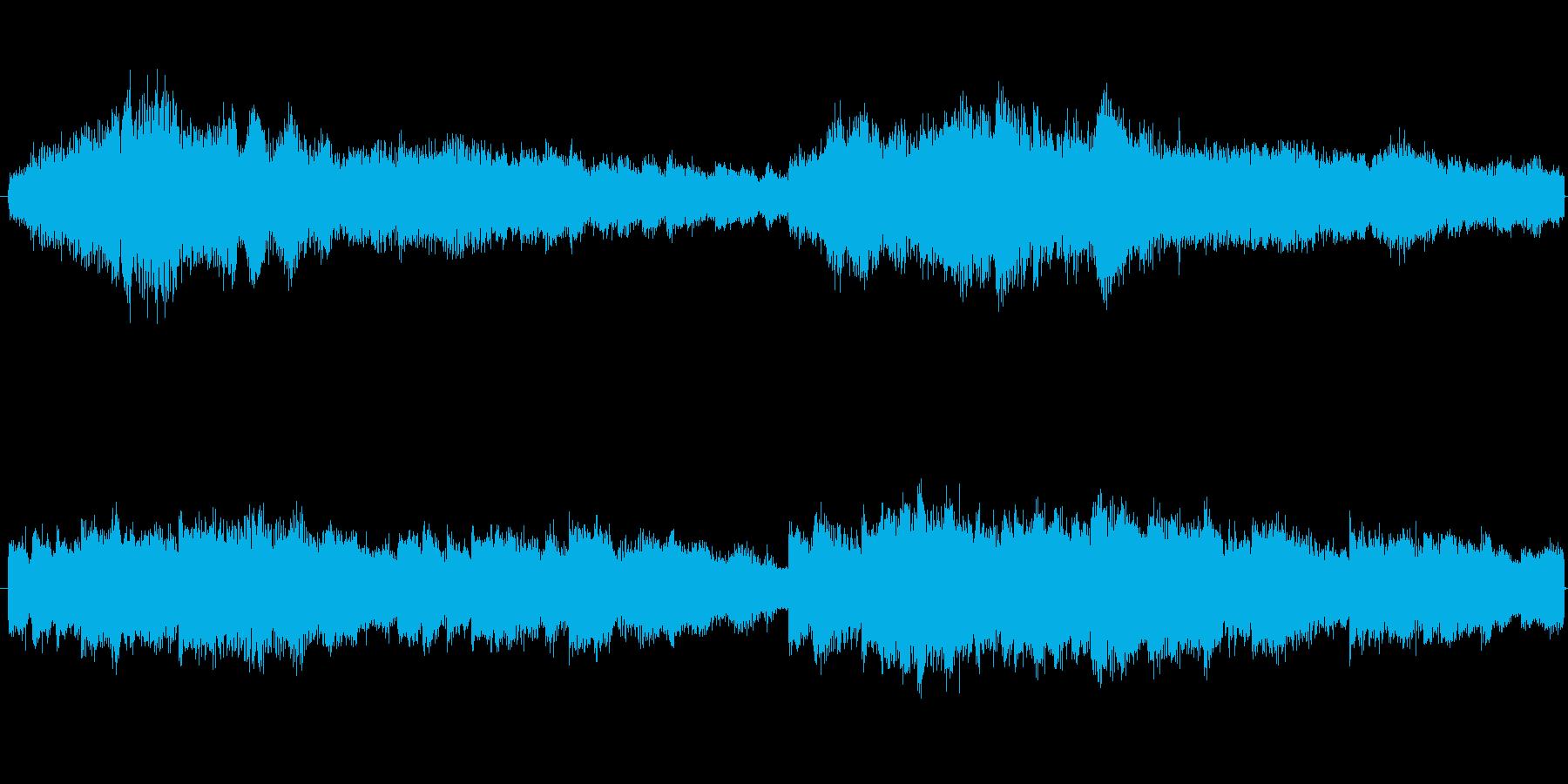 テクノ暖かい神秘【ループ…の再生済みの波形