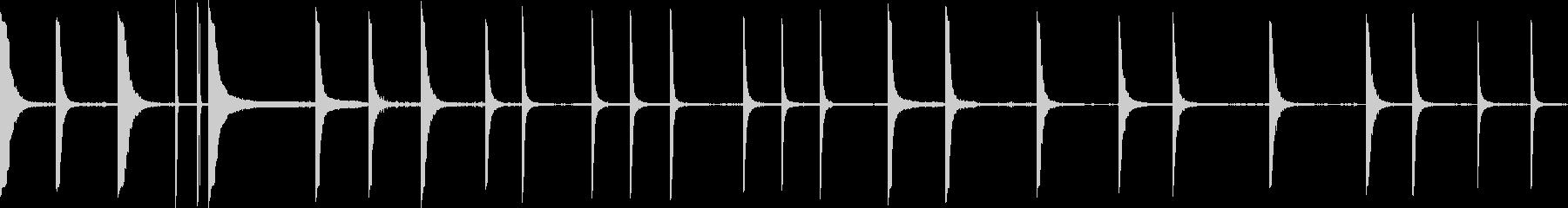 メタルクランクの未再生の波形
