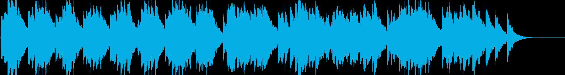 時報・チャイム風の名曲のメロディ・12の再生済みの波形