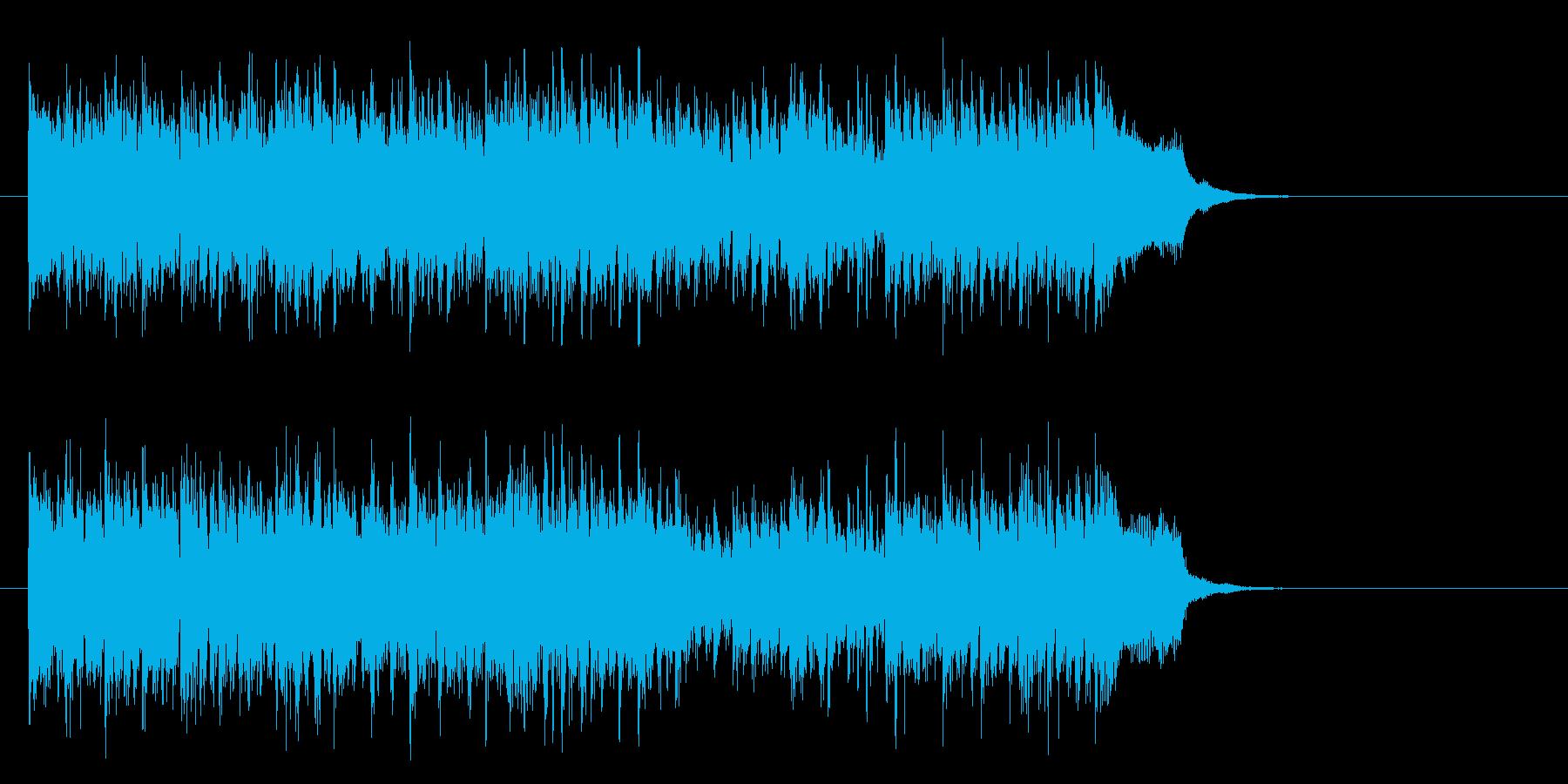 元気一杯なテーマポップス(サビ)の再生済みの波形