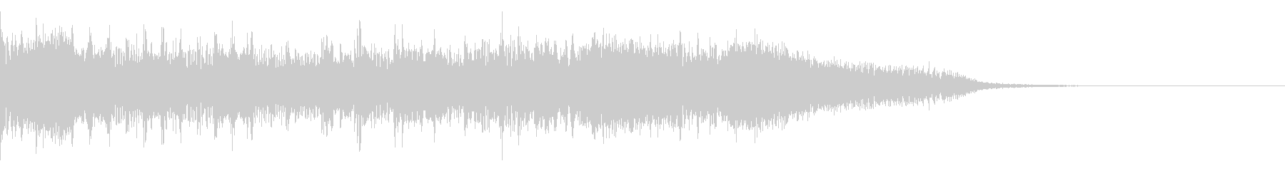 ジングル、サウンドロゴ ROCK02の未再生の波形