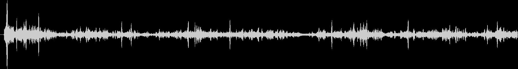 ブクブク(水の音)の未再生の波形