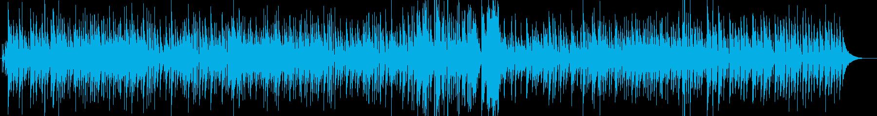 クリスマスおしゃれピアノジャズ飼い葉の桶の再生済みの波形