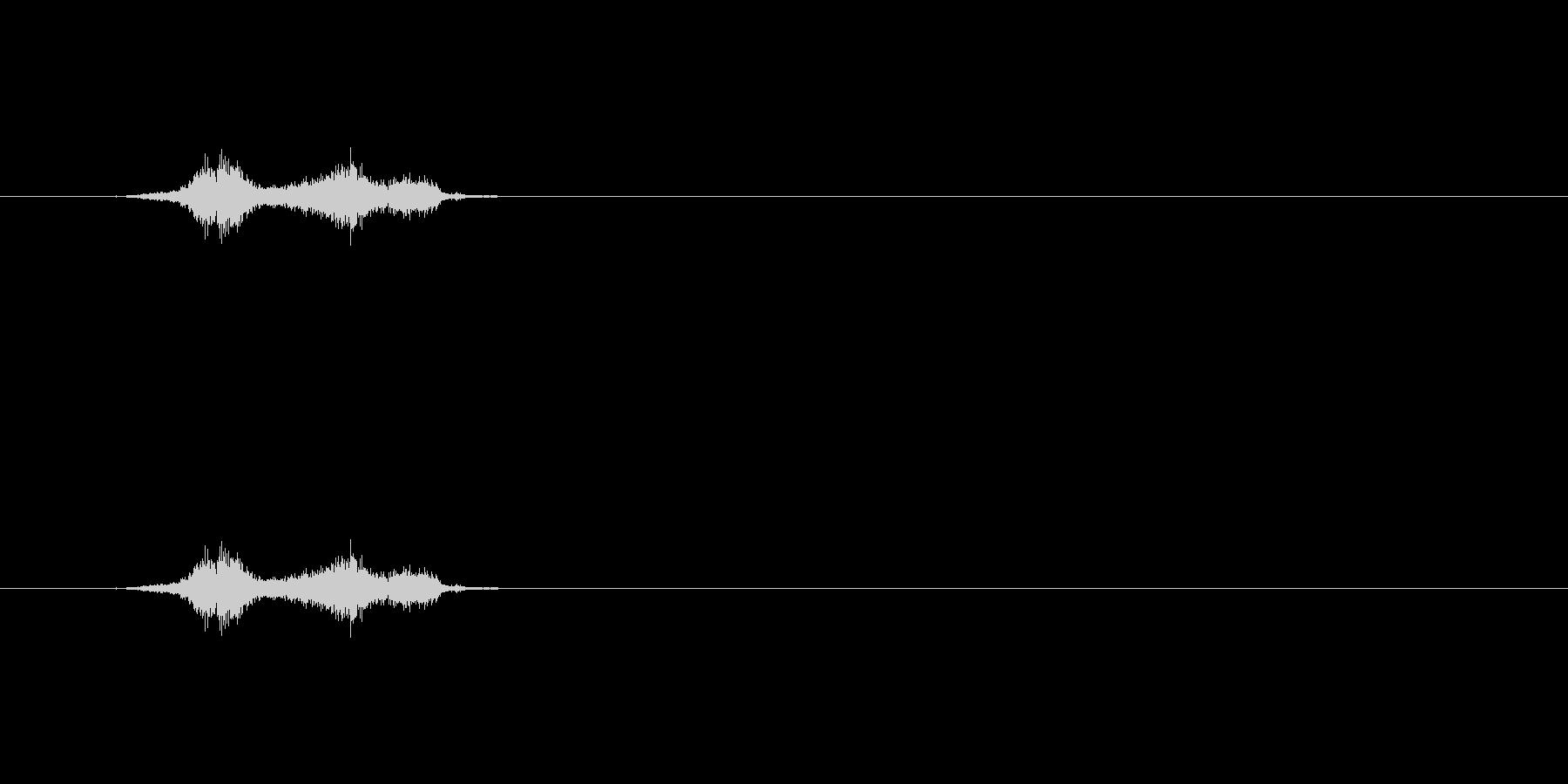 【シャープペン01-07(丸)】の未再生の波形