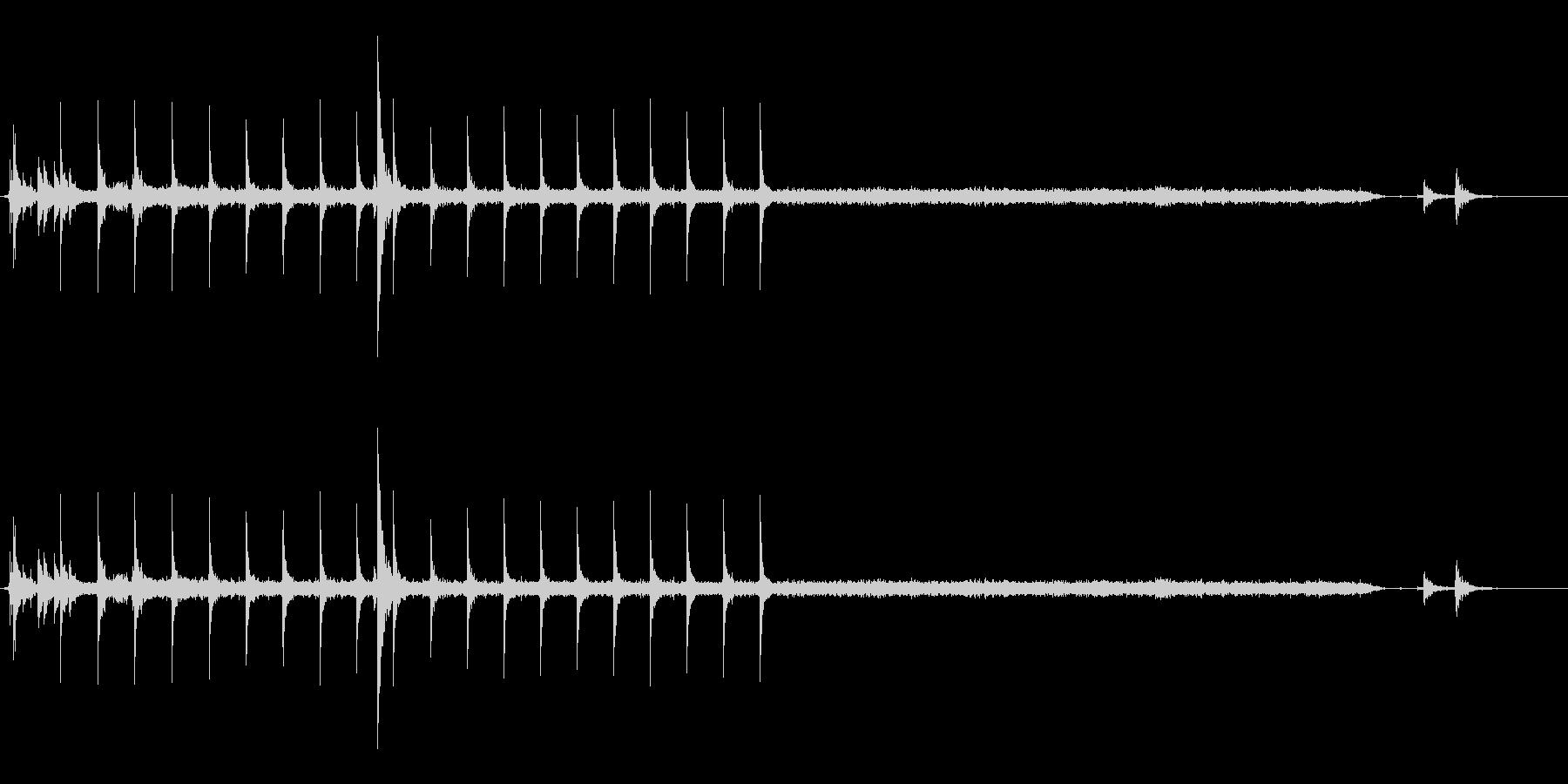 点火音の未再生の波形