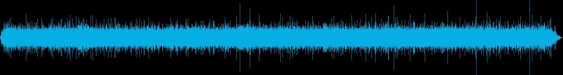[Natural sound] waterfall 02 (Yamanashi)'s reproduced waveform