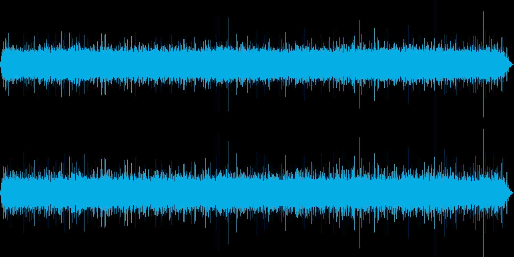 【自然音】滝02(山梨)の再生済みの波形